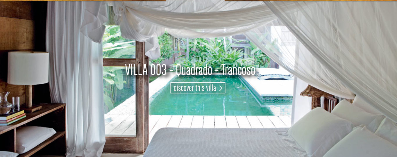 luxury rental trancoso